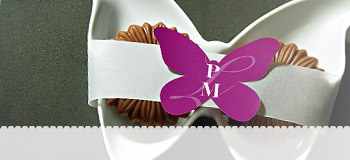 Wedding Stickers Shaped