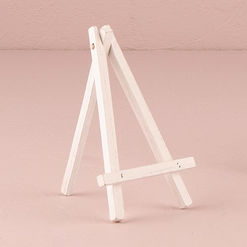 1pcs White Wooden Number 0 9 Bridal Wedding Birthday Party: White Wooden Easels