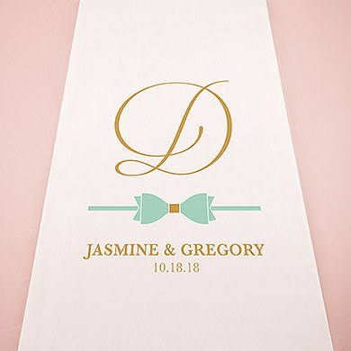 Glitz and Glam Personalized Aisle Runner
