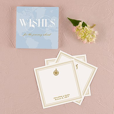 Vintage Travel Memory Box Wishing Well Cards