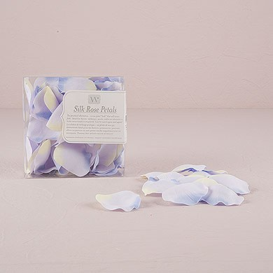 Silk Wedding Ceremony Rose Petals