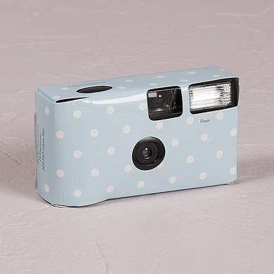 Polka Dot Disposable Camera