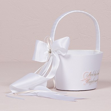 Ceremony Fairy Tale Dreams Flower Girl Basket Accessory