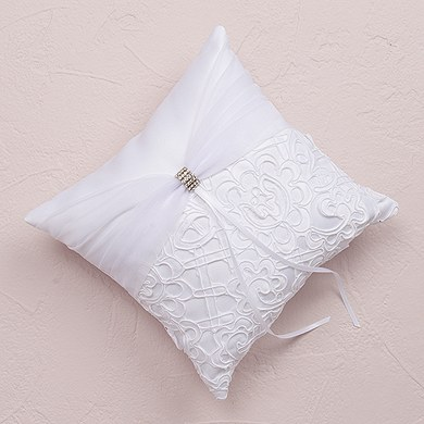 Bridal Tapestry Square Wedding Ceremony Ring Pillow