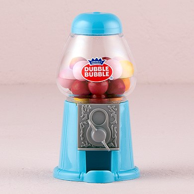 classic gumball dispenser wedding favor