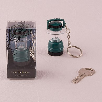mini lantern keychain wedding favor