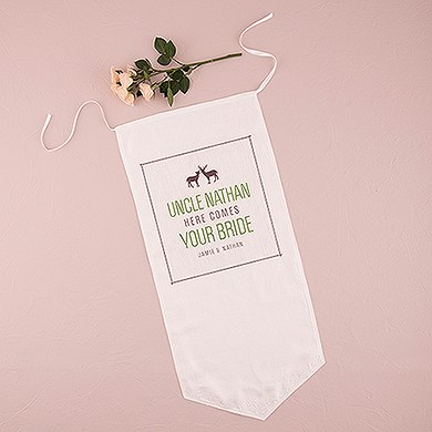Woodland Style Ceremony Banner