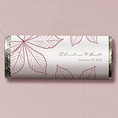 Autumn Leaf Nut Free Gourmet Milk Chocolate Bar