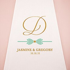 Glitz and Glam Aisle Runner