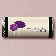 Romantic Elegance Nut Free Gourmet Milk Chocolate Bar