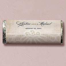 Vintage Lace Nut Free Gourmet Milk Chocolate Bar