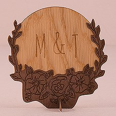 Personalized Wood Veneer Sign - Rustic