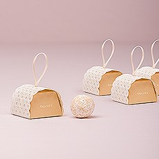 Cute as a Button Mini Favor Box with Ribbon