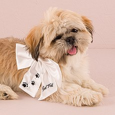"""Best Pet"" Wedding Bow"