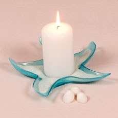 Starfish Glass Candle Holders / Dishes - Large