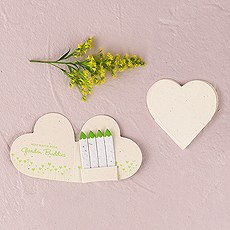 Mini Seeded Paper Matchbook Garden Buddies Booklets