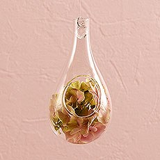 Blown Glass Tear-Drop Vases – Small