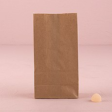 Kraft Paper Goodie Bags Flat Bottom