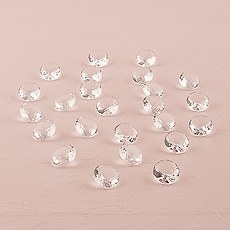 Decorative Acrylic Cut Diamonds - Medium