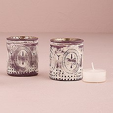 Vintage Inspired Depression Glass Votive Holders