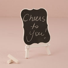 Decorative Chalkboards With White Frame - Medium