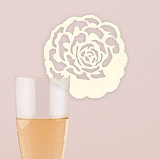 Laser Expressions Succulent Die Cut Card - Ivory
