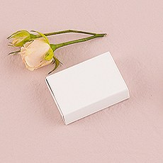 White Drawer-Style Paper Favor Box