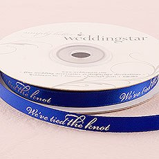 """We've Tied the Knot"" Ribbon"