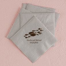 Of All The Fish In The Sea Printed Napkins