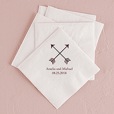 Double Arrows Printed Napkins