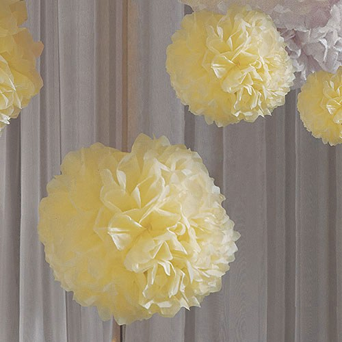 """Celebration Peonies"" Tissue Paper Flowers"