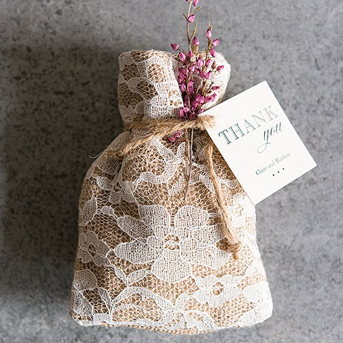 home / favour boxes, bags & containers / favour bags / Rustic Chic ...