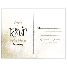 Feather Whimsy RSVP