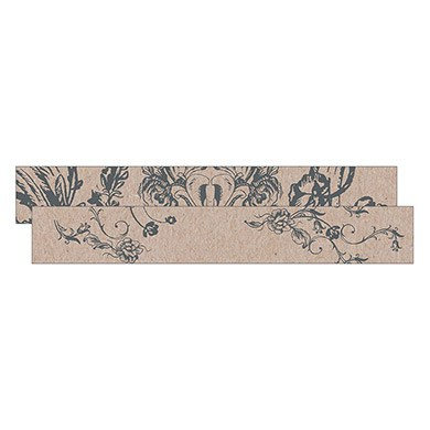 Antique Chic Small Paper Scroll Shapes