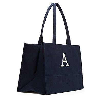 City Tote / Solid Box Tote Navy