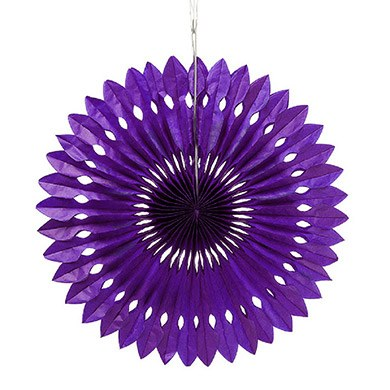 Paper Pinwheel Decor Grape