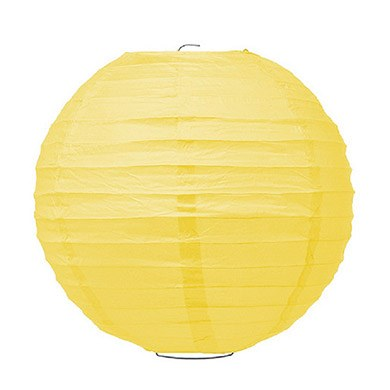 Large Paper Lantern Sunflower