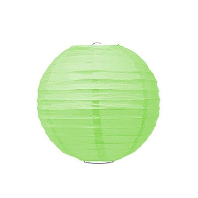 Small Paper Lantern Grass Green