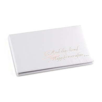 Fairy Tale Dreams Traditional Wedding Reception Guest Book