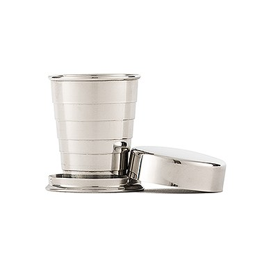 Stainless Steel Collapsing Shot Glass