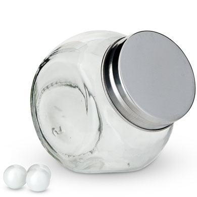 Mini Glass Candy Jar with Lid