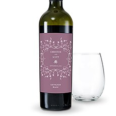 Forget Me Not Wine Label
