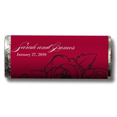 Cabaret Red and White Botanical Gourmet Milk Chocolate Bar