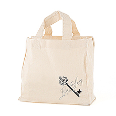 Key Monogram Personalized Tote Bag