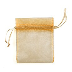 Organza Fabric Drawstring Bag -Large