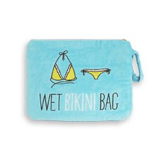 Wet Bikini Bag - Aqua