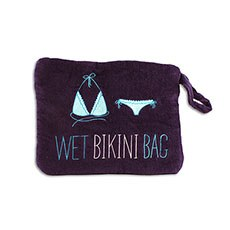 Wet Bikini Bag - Navy