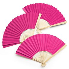 Paper Fan - Fuchsia