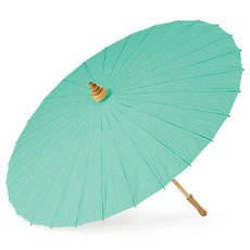 Paper Parasol - Light Cyan