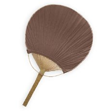 Paddle Fan - Brown